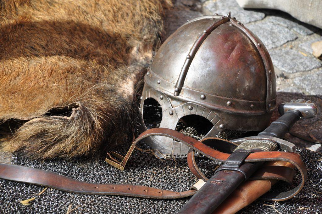 Geestelijke wapenrusting met helm des Heils