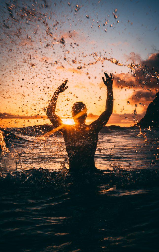 Zonder water is er geen leven mogelijk. Leer mij om blij te zijn met zegeningen het het te zegenen!